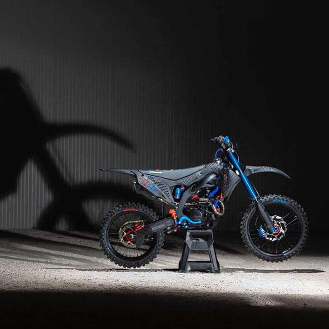 Cận cảnh chiếc mô tô địa hình Kawasaki KX 450 2019 bằng công nghệ in 3D Core - 6