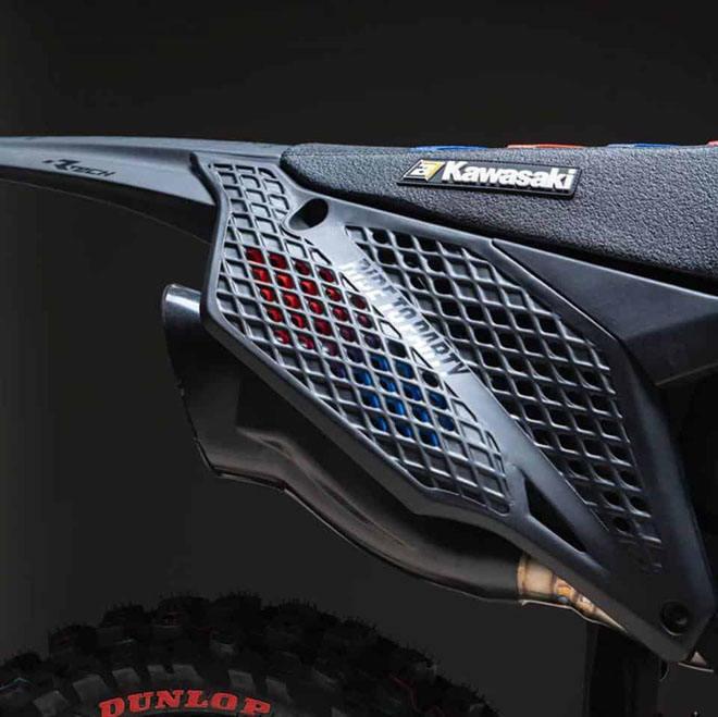Cận cảnh chiếc mô tô địa hình Kawasaki KX 450 2019 bằng công nghệ in 3D Core - 10