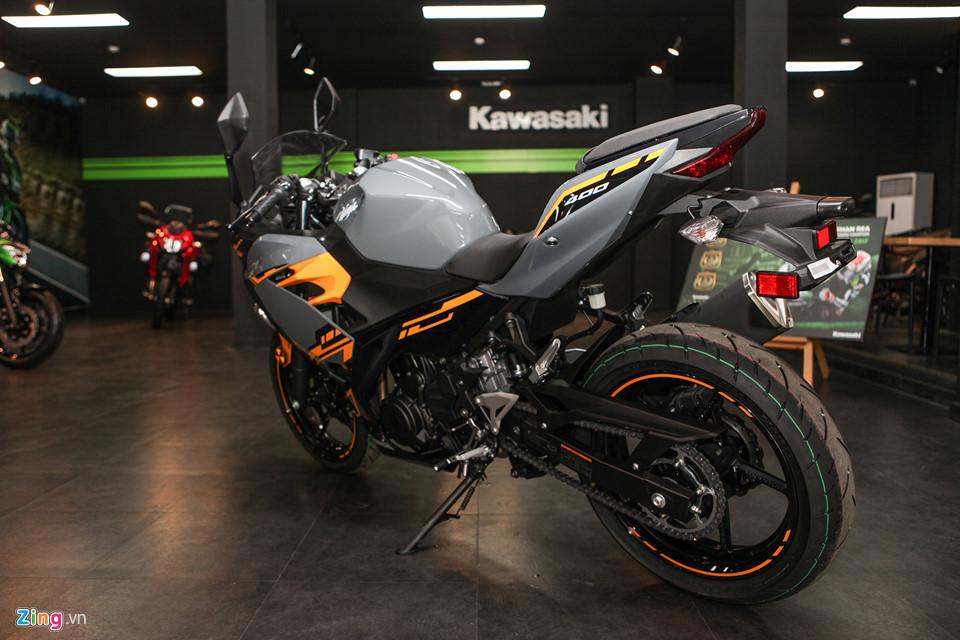 Kawasaki Ninja 400 ABS - doi thu cua Yamaha R3 gia tu 153 trieu o VN hinh anh 3