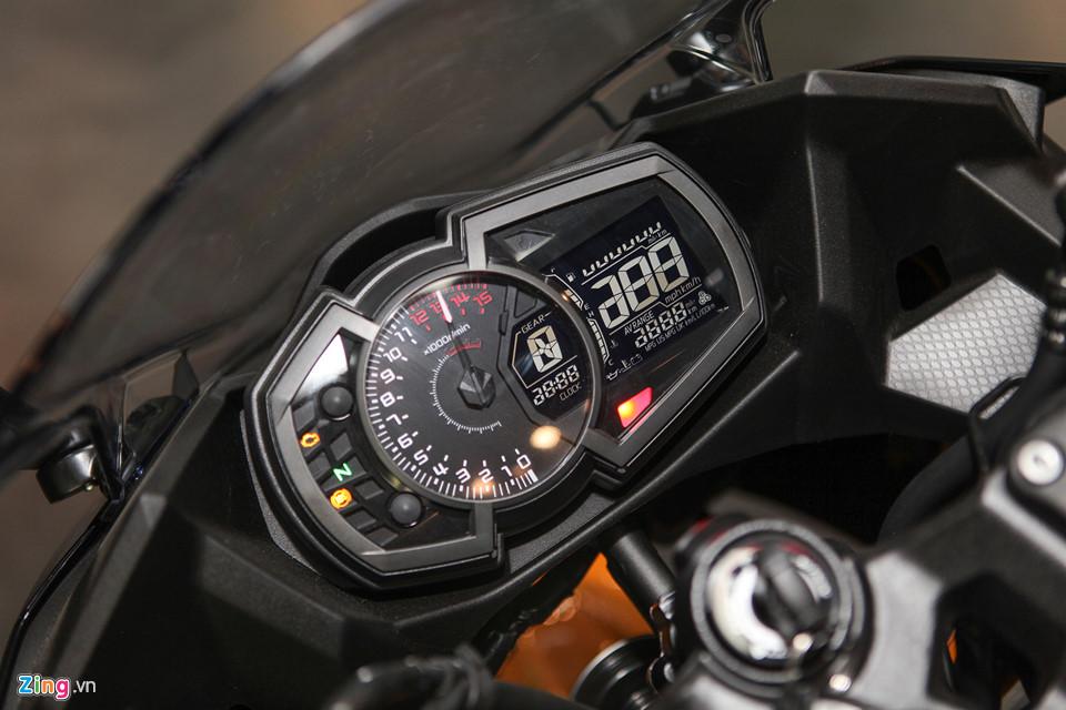 Kawasaki Ninja 400 ABS - doi thu cua Yamaha R3 gia tu 153 trieu o VN hinh anh 6