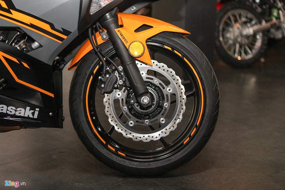 Kawasaki Ninja 400 ABS - doi thu cua Yamaha R3 gia tu 153 trieu o VN hinh anh 8