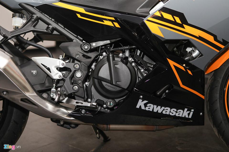 Kawasaki Ninja 400 ABS - doi thu cua Yamaha R3 gia tu 153 trieu o VN hinh anh 7