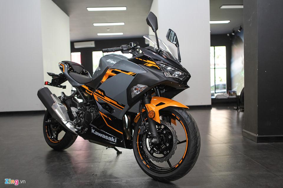 Kawasaki Ninja 400 ABS - doi thu cua Yamaha R3 gia tu 153 trieu o VN hinh anh 5