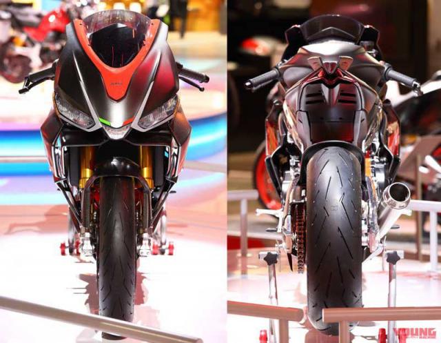 Aprilia RS660 Concept du kien len day chuyen san xuat tai Thai Lan - 4