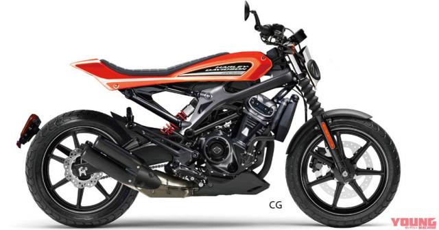 HarleyDavidson XR250 co the se la mo hinh moi nho nhat phan khuc cua Harley Davidson