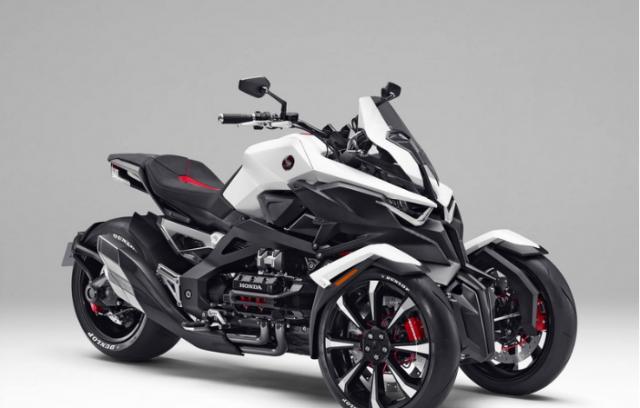 Honda bat dau du an moto 3 banh XADV de thach thuc voi Yamaha Niken - 3
