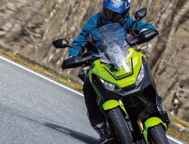 Honda bat dau du an moto 3 banh XADV de thach thuc voi Yamaha Niken - 5