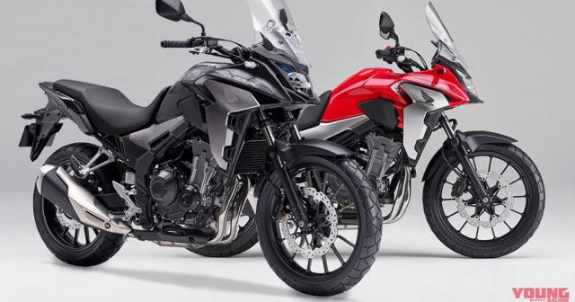 Honda CB400X 2019 hoan toan moi chinh thuc ra mat tai thi truong Nhat Ban