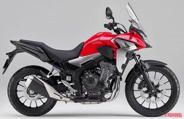 Honda CB400X 2019 hoan toan moi chinh thuc ra mat tai thi truong Nhat Ban - 3