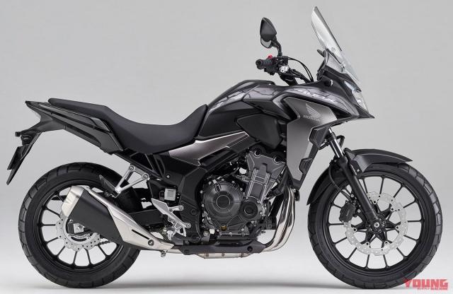 Honda CB400X 2019 hoan toan moi chinh thuc ra mat tai thi truong Nhat Ban - 7