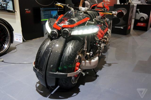 Lazareth LMV496 moto bay cua Phap chinh thuc trinh lang the gioi - 3
