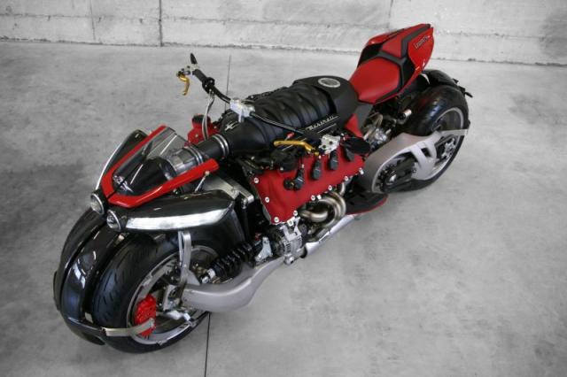 Lazareth LMV496 moto bay cua Phap chinh thuc trinh lang the gioi - 9