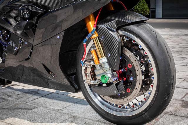 BMW S1000RR do banh cam doc nhat vo nhi cua Biker Can Tho - 10