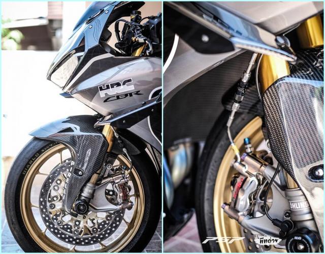 Honda CBR1000RR do dep tuyet tran voi trang bi Winglet doc doan - 5