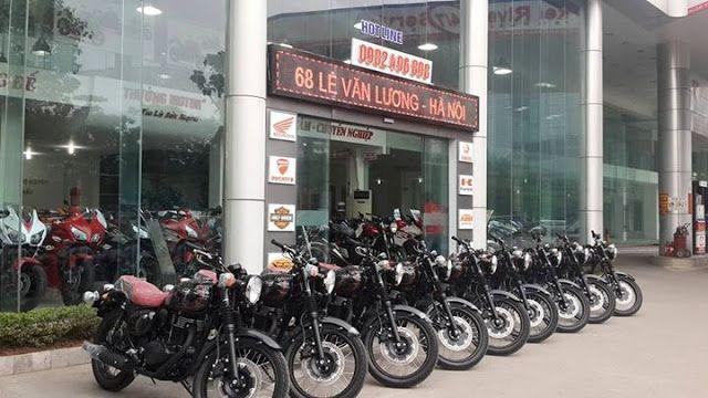 Giới thiệu showroom moto Hà Nội mới nhất 2020