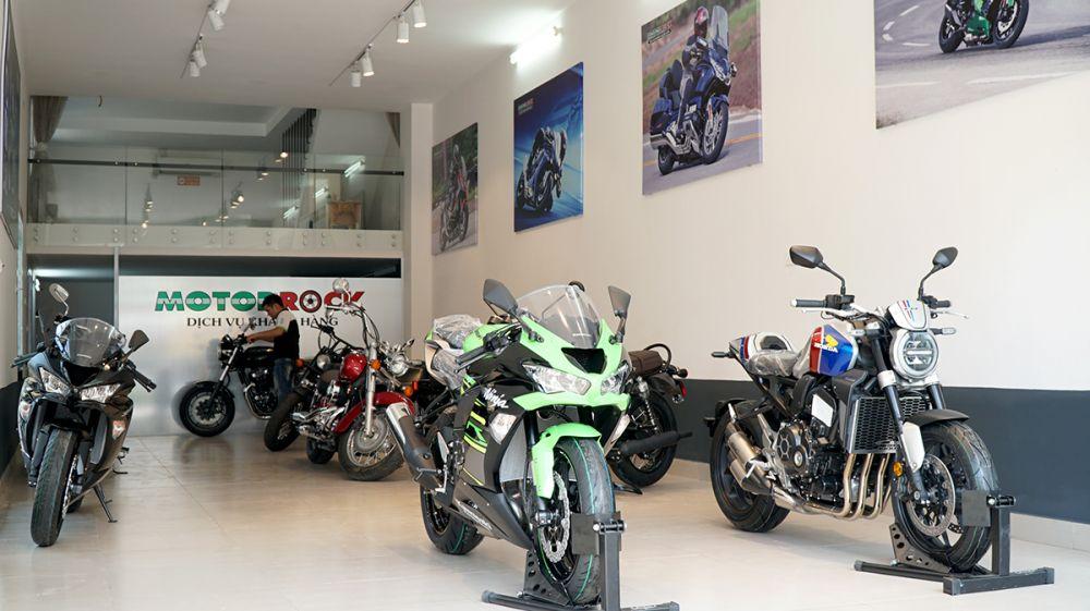 Showroom Moto Hà Nội
