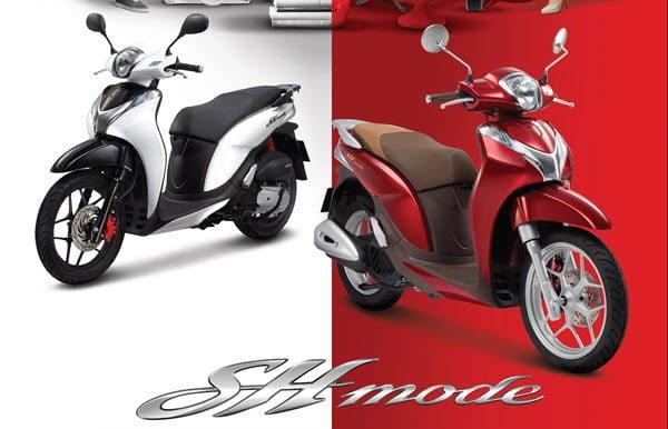 Honda SH Mode đang rất hot trên thị trường Việt bởi vẻ đẹp sang chảnh
