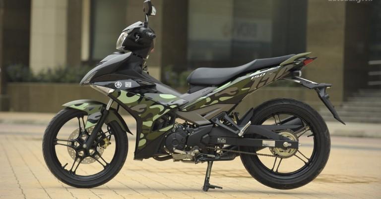 Yamaha Exciter 150 màu Camo