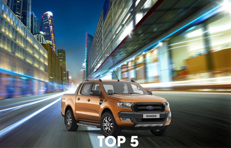 Xe Ford Ranger bán chạy nhất 10 năm qua