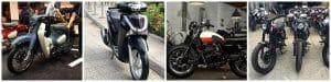 Phân loại xe máy hiện nay