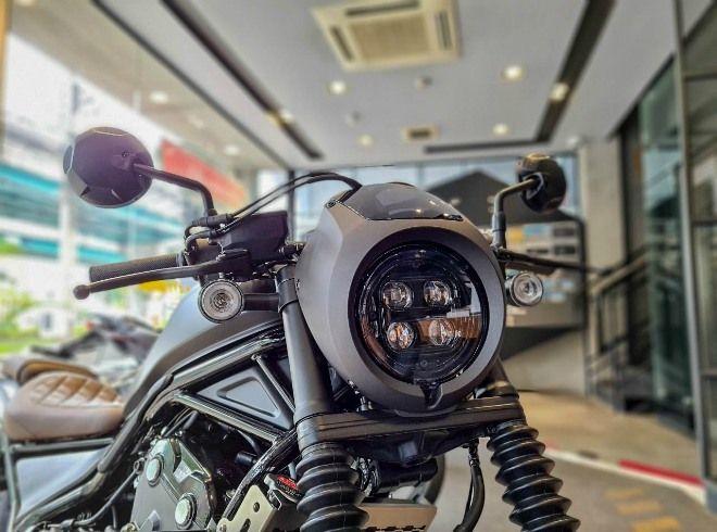 Đánh giá Honda Rebel 500