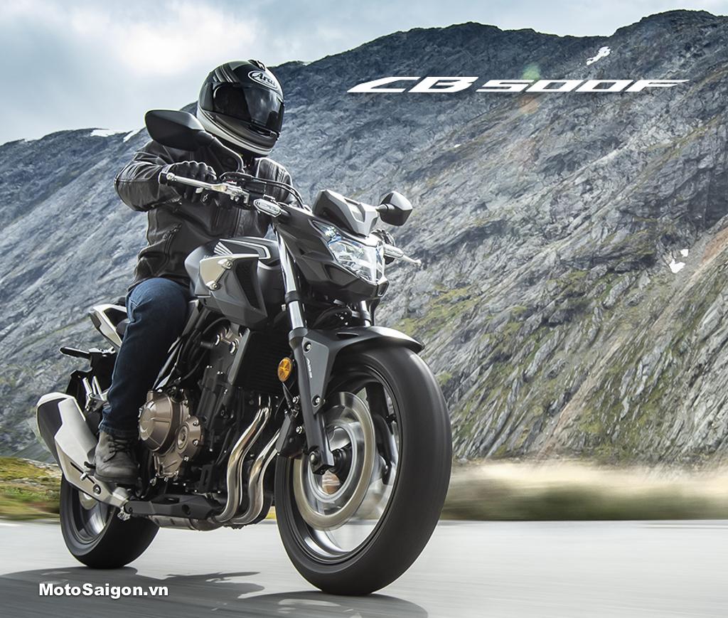 Honda CB500F 2019 chính thức có giá bán tại Việt Nam