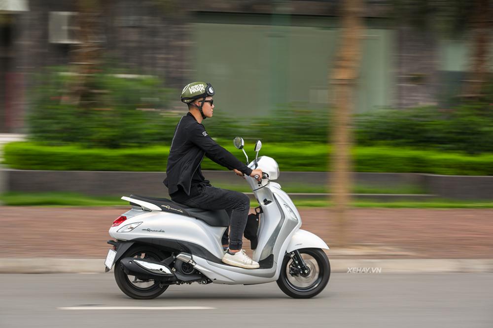 Yamaha Grande Hybrid – Xe tay ga sang chảnh, tiết kiệm xăng nhất Việt Nam