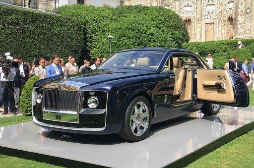 Sweptail Rolls-Royce siêu xe đắt nhất thế giới độc lạ.