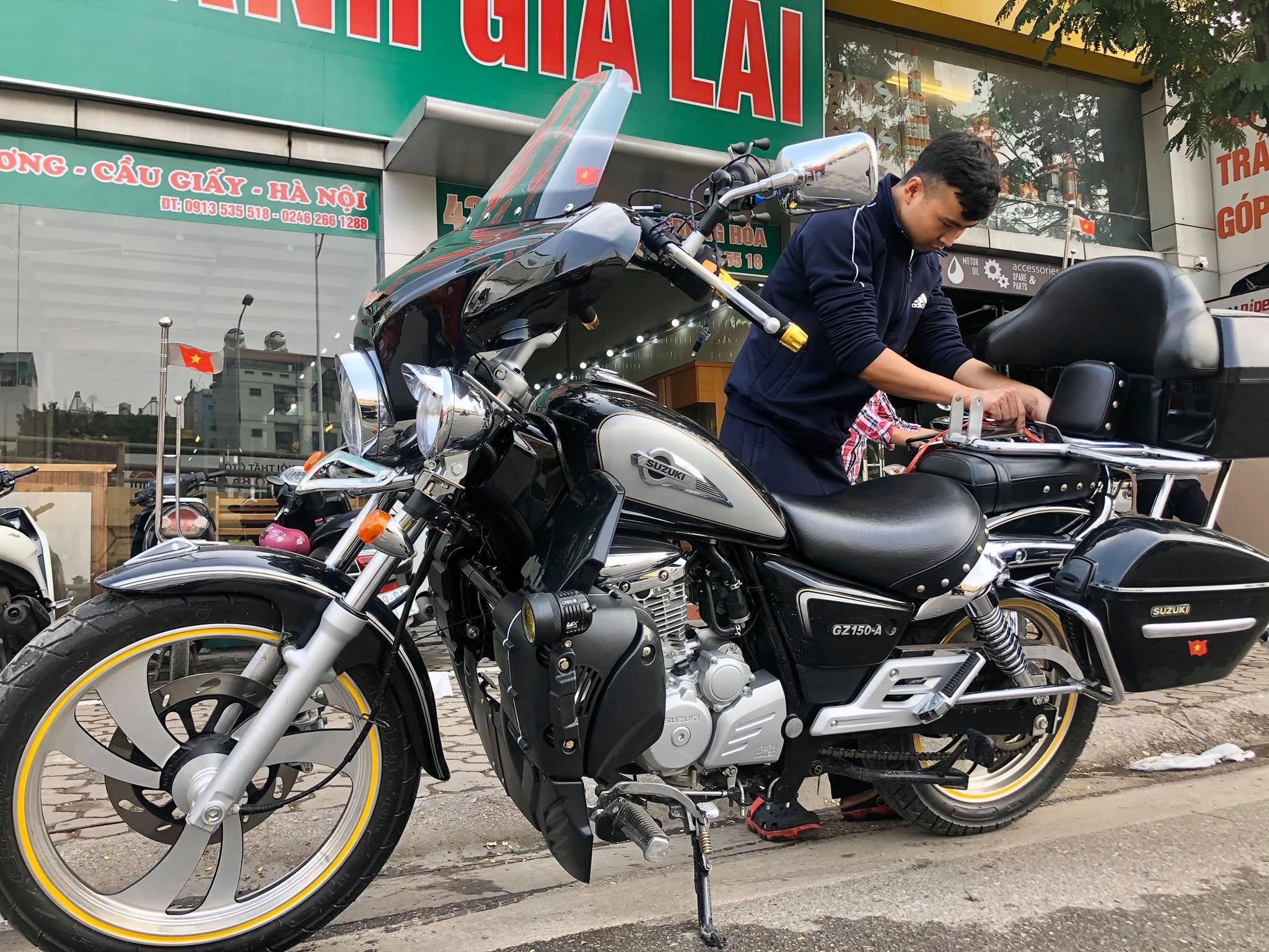 Bản độ SUZUKI GZ150-A 2020 độ đẹp tại VNRIDE Moto - VN RIDE