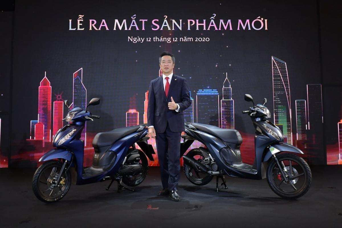 Honda Vision thế hệ mới thêm trang bị, giá từ 30 triệu đồng   taphoa.net