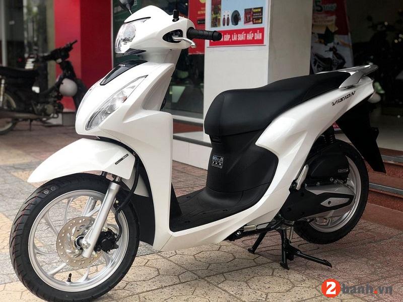 Giá xe Vision 2021 mới nhất hôm nay tháng 5/2021 tại đại lý Honda